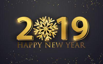 De beste wensen voor 2019!